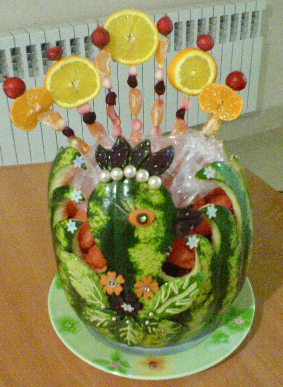 سرمه دوزی هنرهای دستی - تزیین میوه